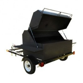 Green Mountain Big Pig Trailer Rig- Giant Pellet Grill