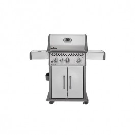 Napoleon Rogue 425 with Infrared Side Burner in Stainless Steel