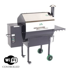 Green Mountain Daniel Boone Stainless Steel Pellet Grill WIFI & Smoker
