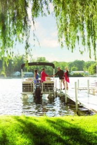 Boating Safety – A Boat on the Docks