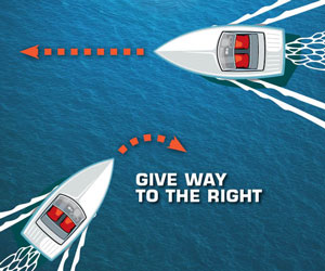 Are You Ready for Busy Waters? Boating Safety: Crossing Paths