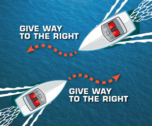 Are You Ready for Busy Waters? Boating Safety: Head on Approaches
